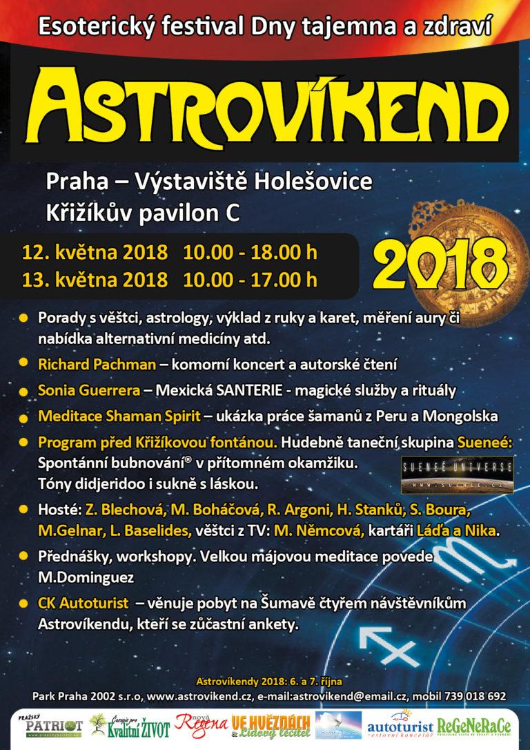 Astrovíkend Praha Výstaviště Holešovice