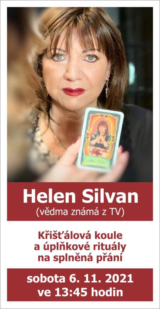 Helen Silvan (vědma známá z TV): Křišťálová koule a úplňkové rituály na splněná přání, 6. 11. ve 13:45